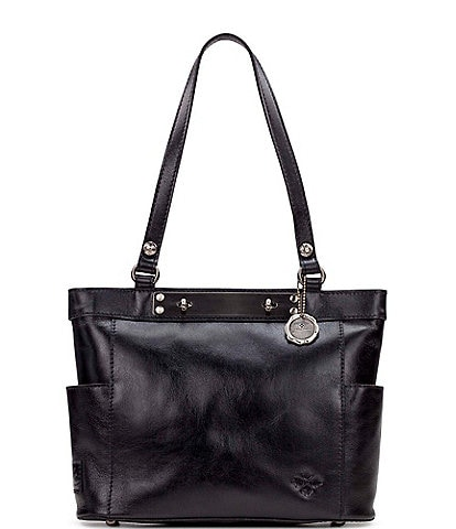 Patricia Nash Heritage Collection Rayleigh Leather Tote Bag