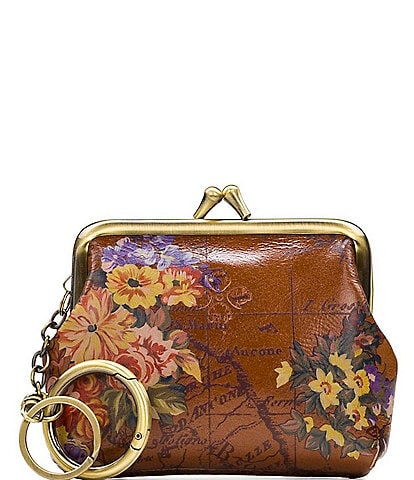 Patricia Nash Heritage Floral Map Collection Borse Coin Purse