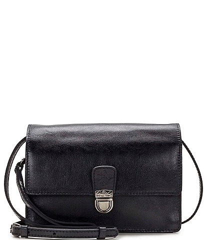 Patricia Nash Heritage Lanza Leather Crossbody Bag