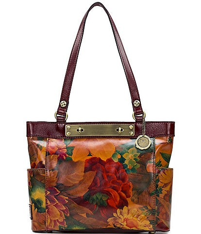 Patricia Nash Heritage Multi Print Collection Rayleigh Tote Bag
