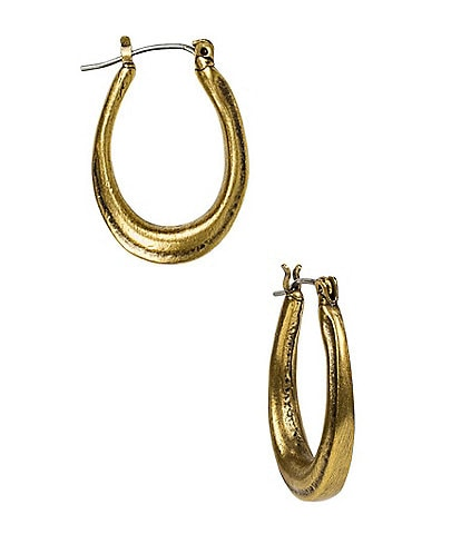 Patricia Nash Horse Shoe Gypsy Hoop Earrings