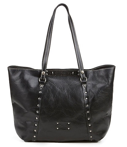 Patricia Nash Leather Benvenuto Studded Convertible Tote Bag