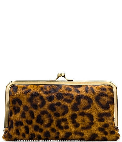 Patricia Nash Leopard Collection Everly Wallet