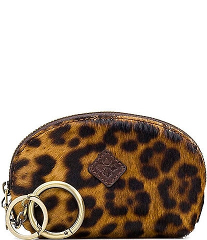 Patricia Nash Leopard Collection Keisley Key Fob Pouch