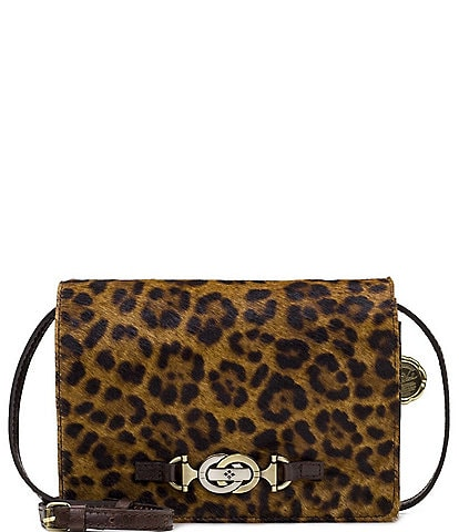 Patricia Nash Leopard Collection Laurentina Crossbody Bag
