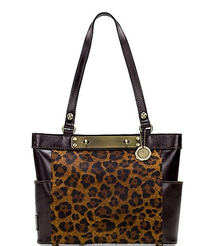 Patricia Nash Leopard Collection Rayleigh Tote Bag
