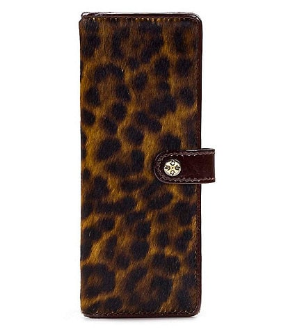 Patricia Nash Marotta Leopard Card Holder Case