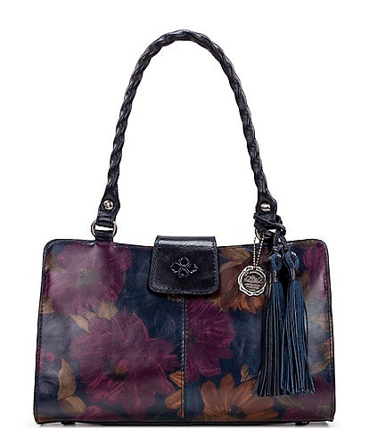 Patricia Nash Peruvian Painting Collection Rienzo Satchel Bag