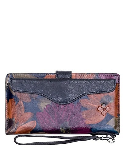 Patricia Nash Peruvian Painting Collection Valentia Wristlet