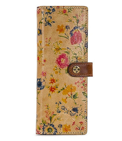 Patricia Nash Prairie Rose Collection Marotta Card Holder