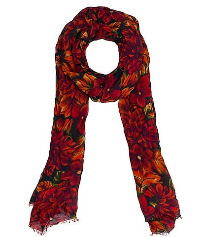 Patricia Nash Rustic Mums Collection Scarf