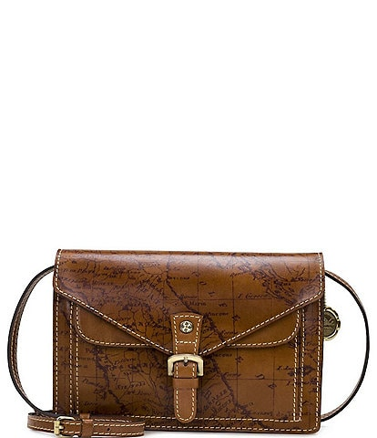 Patricia Nash Signature Map Collection Cassano Crossbody Bag