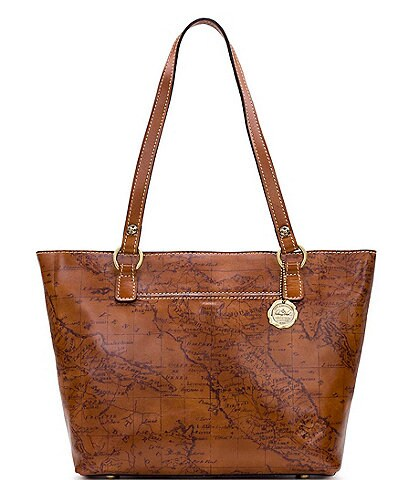 Patricia Nash Signature Map Collection Lindsell Tote Bag