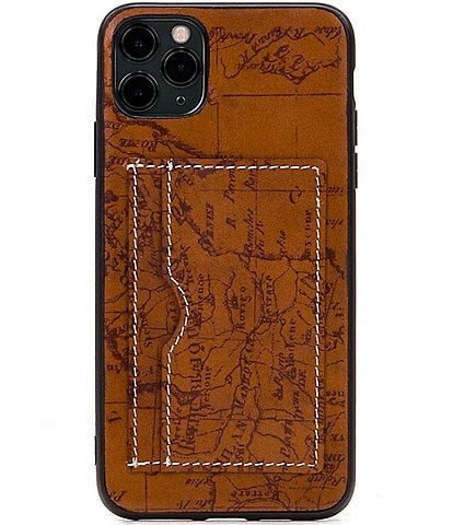 Patricia Nash Signature Map Collection Melzo iPhone Case