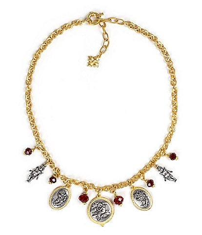Patricia Nash Single Chain Charm Necklace