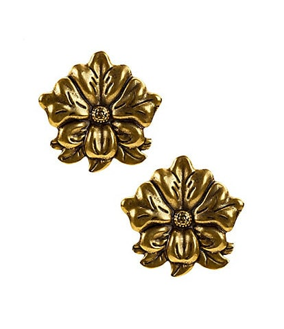 Patricia Nash The Tooled Flower Earrings