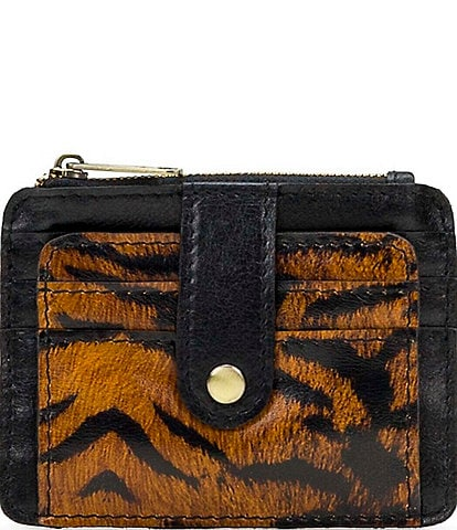 Patricia Nash Tiger Collection Cassis Card Wallet