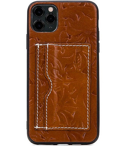 Patricia Nash Rose Tooling Collection Melzo Leather iPhone Case