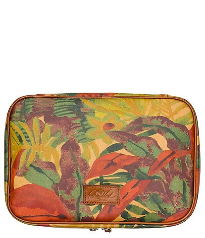 Patricia Nash Tropical Dreams Collection Ilaria Travel Case