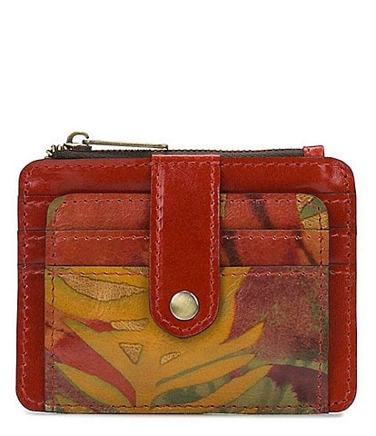 Patricia Nash Tropical Dreams Collection Cassis Card Holder Wallet
