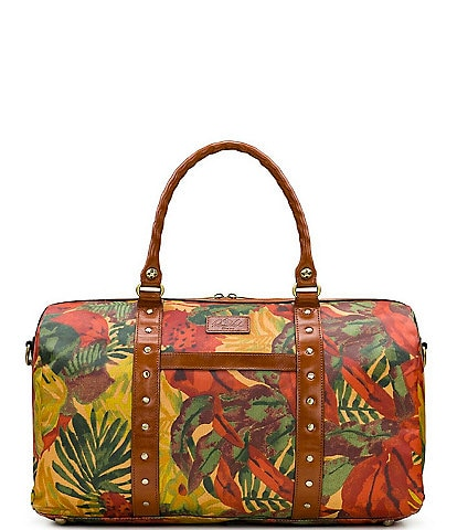 Patricia Nash Tropical Dreams Collection Milano Duffel Bag
