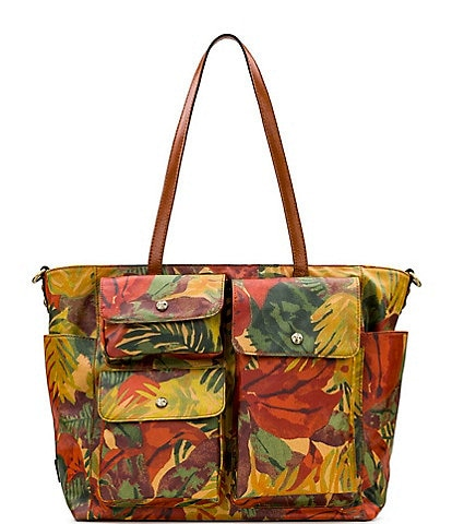 Patricia Nash Tropical Dreams Collection Sorlana Travel Tote Bag