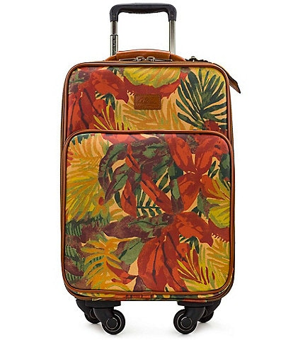 Patricia Nash Tropical Dreams Collection Vettore Trolley Wheeled Carry-On Spinner