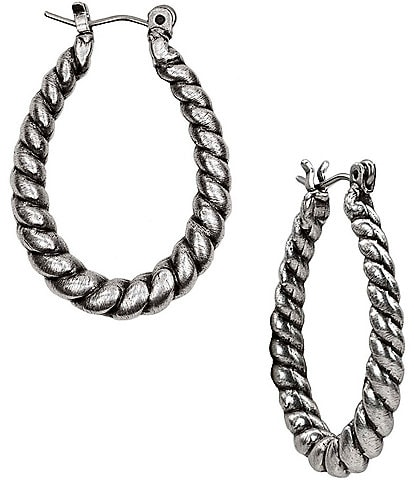 Patricia Nash Twist Rope Hoop Earrings