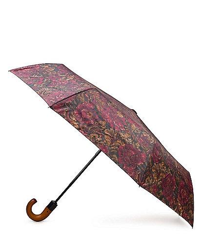 Patricia Nash Vintage Floral Brocade Collection Magliano Umbrella