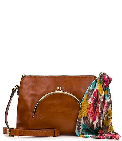 Patricia Nash Vintage Frame Collection Avellino Crossbody Bag
