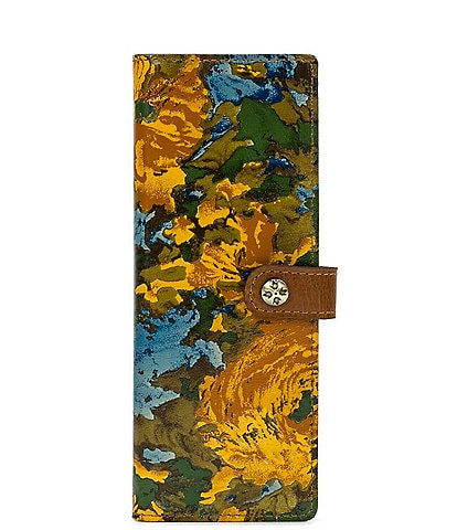 Patricia Nash Wildflower Collection Marotta Floral Printed Leather Card Holder Wallet