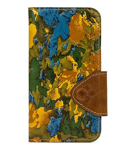 Patricia Nash Wildflower Collection Michele Floral Printed Leather iPhone 11 Pro Case