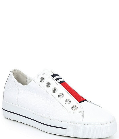 Paul Green Abby Leather Slip-On Sneakers