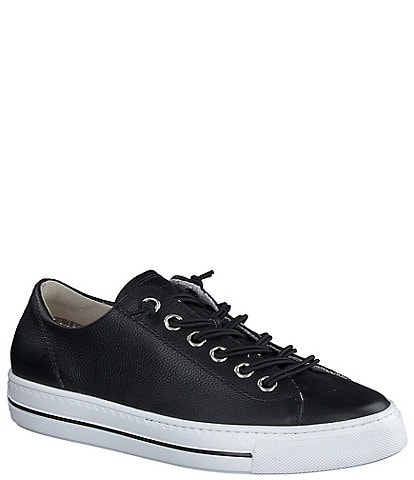 Paul Green Hadley Leather Lace-Up Sneakers