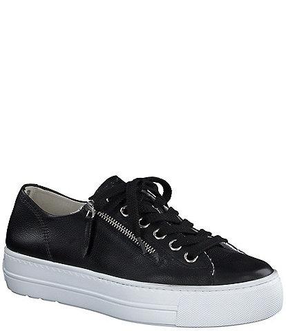 Paul Green Harper Leather Zip Sneakers