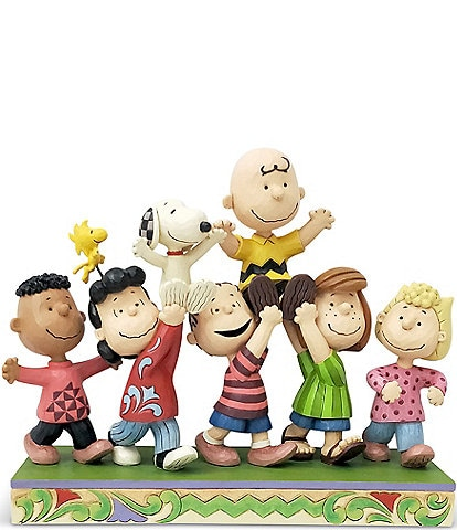 Peanuts by Jim Shore Peanuts Gang A Grand Celebration Figurine