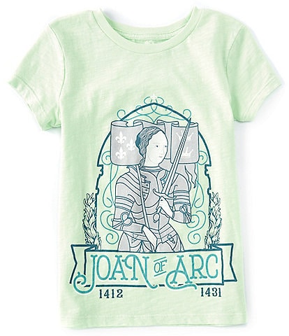 Peek Little Girl/Big Girls 2T-12 Short-Sleeve Joan Of Ark Tee