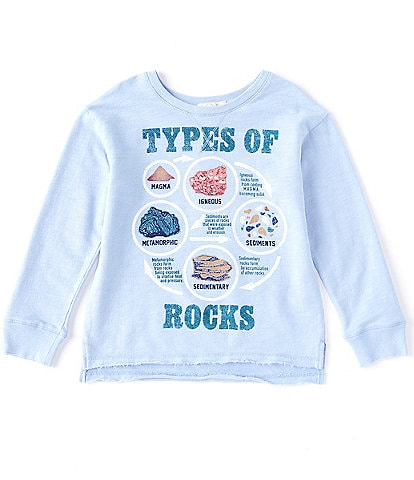 Peek Little/Big Boys 2T-12 Long-Sleeve Totally Rockin' Tee