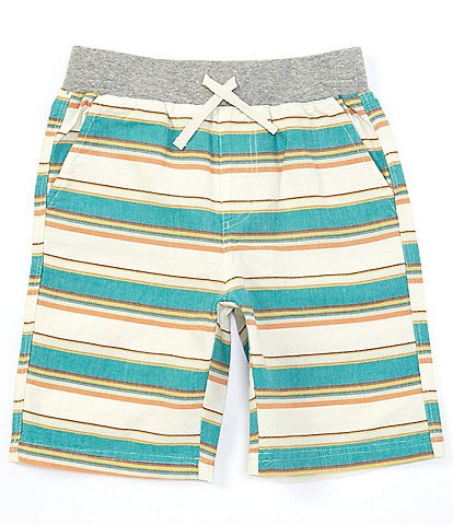 Peek Little/Big Boys 2T-12 Noah Stripe Pull-On Woven Shorts