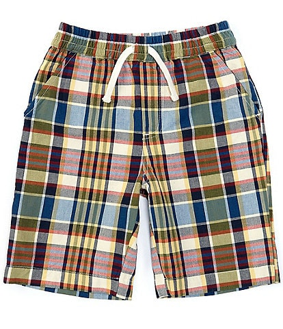 Peek Little/Big Boys 2T-12 Plaid Woven Shorts