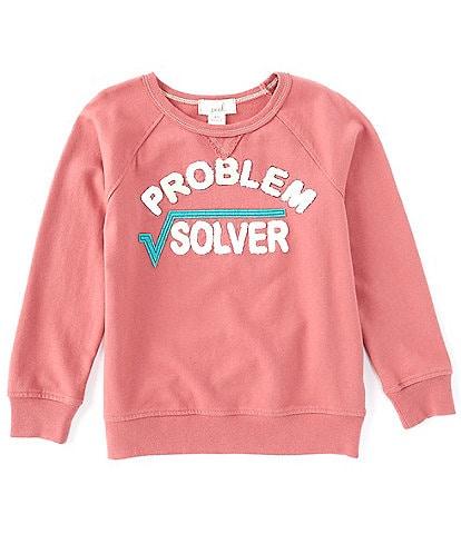 Peek Little/Big Boys 2T-12 Problem Solver Sweatshirt
