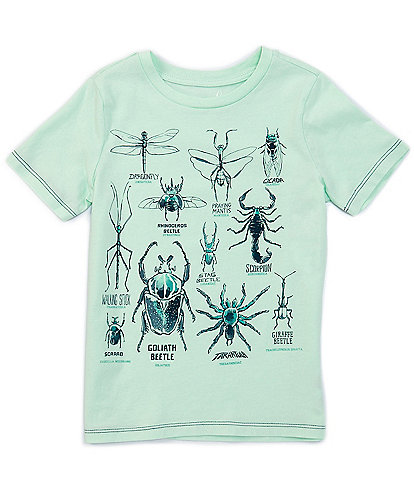 Peek Little/Big Boys 2T-12 Short-Sleeve All About Insects Tee