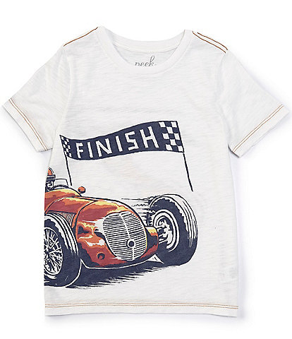 Peek Little/Big Boys 2T-12 Short-Sleeve Finish Line Tee