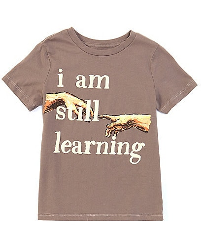 Peek Little/Big Boys 2T-12 Short-Sleeve I Am Still Learning Tee