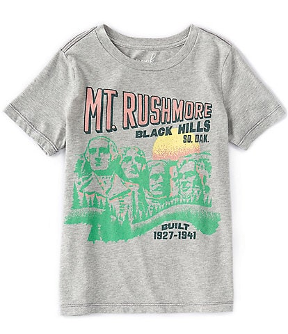 Peek Little/Big Boys 2T-12 Short-Sleeve Mount Rushmore Tee