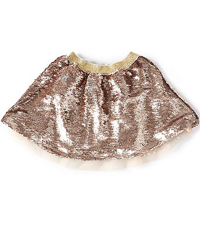Peek Little/Big Girls 2T-12 Ariana Flip-Sequin Skirt