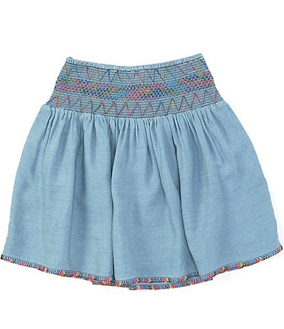 Peek Little/Big Girls 2T-12 Donatella Pixie Denim Skirt