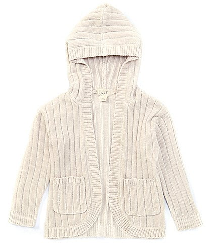 Peek Little/Big Girls 2T-12 Hooded Chenille Cardigan