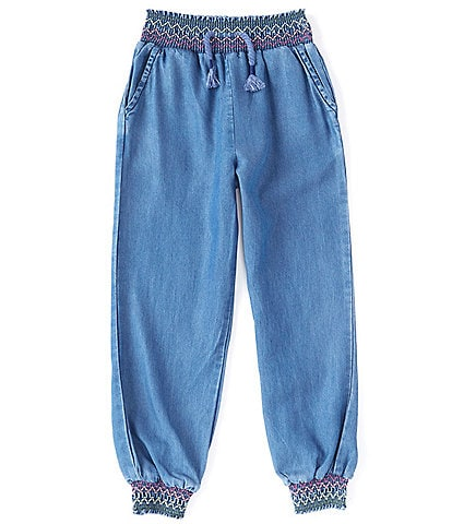Peek Little/Big Girls 2T-12 Chainstitch Jogger Pants