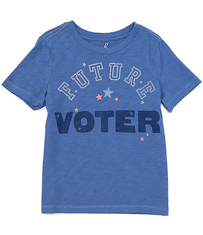 Peek Little/Big Kids 2T-12 Short-Sleeve Future Voter Tee